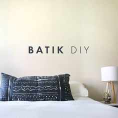 Batik diy - yes please!