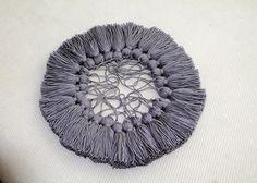100 PCS Shocking Grey Cotton Tassels Handmade Tassel Designer Quality Jewelry Making Craft Supplies