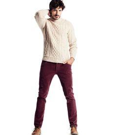 Andres Velencoso Segura Dons Relaxed Styles for H Fall 2012