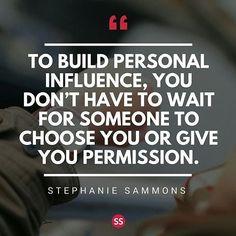 To build personal influence.... #successtips #storytelling #smallbusinessowners #smallbiz #smallbiztips #businessgrowth #startup #startuplife #startuptips #entrepreneurs #entrepreneur #advicequotes #adviceoftheday #lifetips #advicequotes #adviceoftheday #