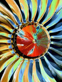 "Saatchi Online Artist TOULA MAVRIDOU-MESSER; Photography, ""NEW Photographic Art Print For Sale: Power Of The Propellor"" #art"