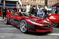 Rimac Concept One - croatian electric sports car prototype