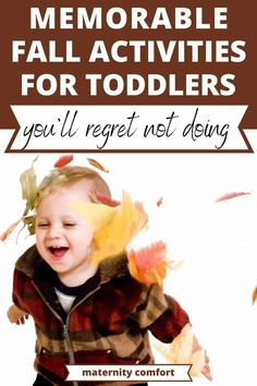 These Fun fall toddler activities will keep your active two-year-old busy for hours! fall sensory bins, fall art and craft projects, fall nature walks, and so much more! Fall Activities For Toddlers, Nature Activities, Autumn Activities, Fall Sensory Bin, Sensory Bins, Fall Arts And Crafts, Arts And Crafts Projects, Autumn Nature, Autumn Art