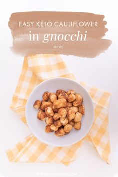 A delicious, keto cauliflower gnocchi recipe for Italian food lovers! This easy air fryer cauliflower gnocchi recipe is ideal for those who love Italian food and easy recipes! If you have been wanting to try making cauliflower gnocchi at home you are going to love this cauliflower air fryer recipes #Keto Easy Healthy Recipes, New Recipes, Dog Food Recipes, Vegetarian Recipes, Favorite Recipes, Delicious Recipes, Healthy Food, Traditional Thanksgiving Recipes, Thanksgiving Dinner Recipes