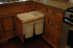 Glazed Maple Kitchen Cabinets | Hand Crafted Glazed Maple Cabinets by Custom Corners Llc | CustomMade ...