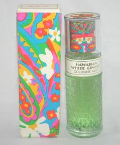 Avon Hawaiian White Ginger  WISHED THEY STILL MADE THIS, ROSES ROSES AND ALOT OF THE ONES FROM TEH 60'S & 70S