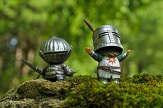 Mini Solaire and Siegmeyer By Fiona Ng Dark Souls figures