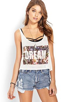 Dream In Color Flared Tank | FOREVER21 - 2000121419