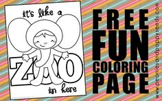 Free printables for every occasion, plus party ideas, crafts for kids, and more! Back To School Crafts, Funny Ideas, Free Fun, Free Coloring Pages, Elementary Schools, Free Printables, Crafts For Kids, Activities, Birthday