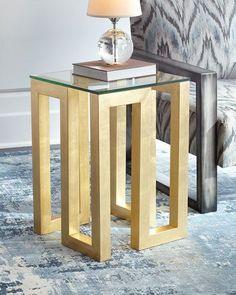 Selena Side Table Metal Furniture, Handmade Furniture, Furniture Projects, Diy Furniture, Furniture Design, System Furniture, Furniture Plans, Wood Projects, Sofa Table Design