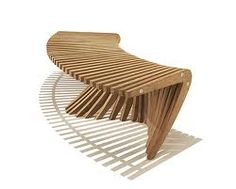 curved wooden benches - Google Search