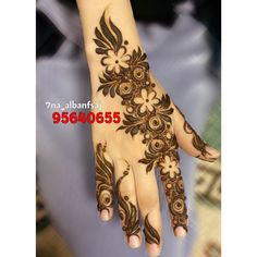 No photo description available. Henna Tattoo Designs Simple, Indian Henna Designs, Latest Arabic Mehndi Designs, Finger Henna Designs, Mehndi Designs For Girls, Mehndi Designs For Beginners, Modern Mehndi Designs, Mehndi Designs For Fingers, Mehndi Design Pictures