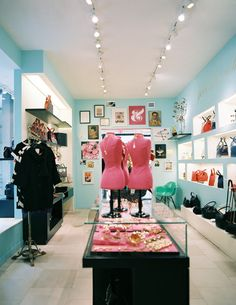 Retail Store Design Photo - Colorful displays of kate spade new york merchandise