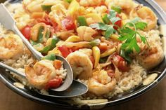 Mouth-Watering Cajun Shrimp Etouffee With Rice