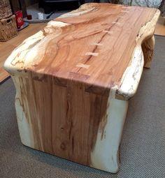 Bespoke Spalted beech coffee table