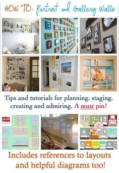 Portrait & Gallery Walls: All You Need to Know! @CraftBits & CraftGossip