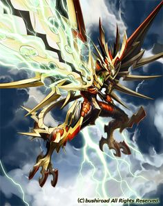 Thunder Break Dragon -Vanguard artwork