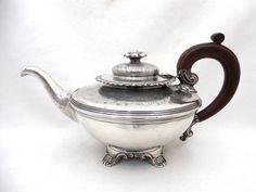 Gorgeous Ornate Antique Silverplate Teapot Ellis-Barker Silver Co Birmingham #EllisBarkerSilverCo