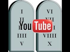 The Ten Youtube Commandments