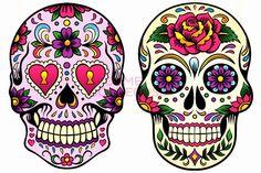 Sugar skulls, las calaveras de azúcar Mexicanas   Belagoria   la web de los tatuajes