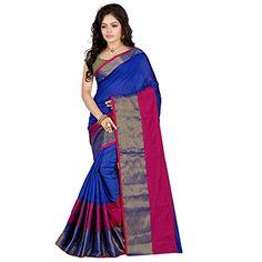 Stutti Fashion Self Design Womens Blue Cotton Silk Saree - http://www.onlinesaleindia.in/product/stutti-fashion-self-design-womens-blue-cotton-silk-saree/