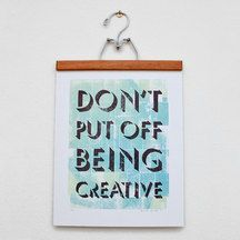 Be Creative Sign!