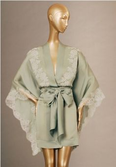 Carine Gilson is the epitome of luxury lingerie (those sleeves! that lace!)
