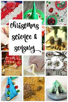 25+ Christmas science experiments and sensory activities for kids
