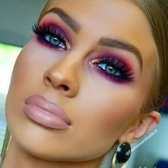 Gorgeous makeup tips are readily available on our website. Read more and you wil. Glam Makeup Look, Gorgeous Makeup, Love Makeup, Makeup Inspo, Makeup Inspiration, Beauty Makeup, Hair Makeup, Sleek Makeup, Makeup Tips
