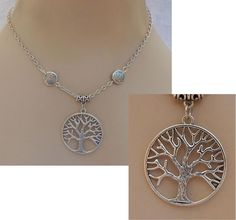 Silver Celtic Tree of Life Pendant Necklace Handmade Adjustable NEW Accessories  #Handmade