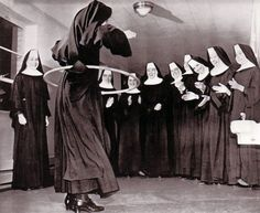 See? Nuns doing almost ANYTHING is funny. :-)