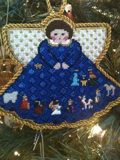 steph's stitching: Painted Pony Angels  Nativity scene