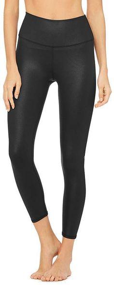 5e259f6677e54 Alo Yoga 7/8 High-Waist Airbrush Leggings #yoga #lifestyle #outfit