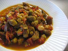 Yemek Tarifleri - Türk Yemek Tarifleri: Zeytinyağlı Bamya
