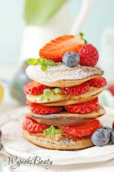 Healthy Recipes, Healthy Food, Healthy Meals, Dinner Recipes, Food Porn, Food And Drink, Sweets, Snacks, Pancakes