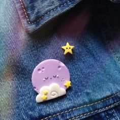 Broche estrella y Luna sueño establecer
