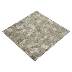 Macaras Gray Porcelain Tile - 16in. x 16in. - 912102685 | Floor and Decor