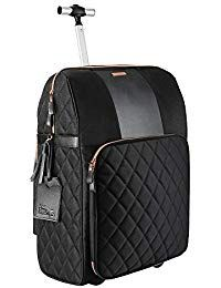 2512972b3a The Travel Hack Pro Cabin Case with Integrated Handbag Compartment 55 x 40  x 20 cm