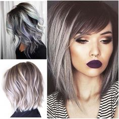 Grey and Silver Hair Trends!!! #fashiontrends #summer2016 ...