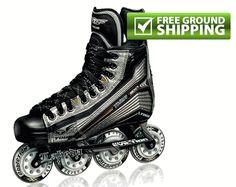 Tour Thor EX1 Senior Inline Hockey Skates - 2012