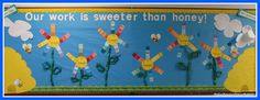 school cafeteria bulletin boards | Take a look at this brilliant spring-synonym bulletin board. I took ...