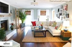Colors and texture | Living Room