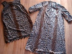 Vintage 1960s Leopard Print Lingerie Nightie and by bycinbyhand, $85.00