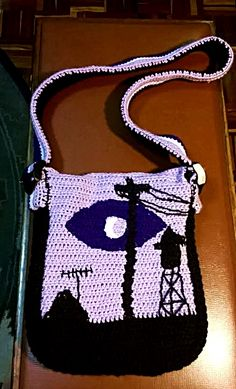 Awesome WTNV crochet bag made by my mum! #welcometonightvale #crochet #WTNV