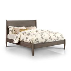 514c48af18cea Furniture of America Corrine Mid-Century Modern Queen-size Platform Bed  Modern Queen Bed