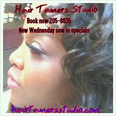 Call Hair Tamers Studio book your Weave install appointment bring your hair 225-205-8635 hairtamersstudio.com Full Sew ins 135 #Sewinweaves #Hairextensions #Louisiana #BatonRouge #Hairgrowth