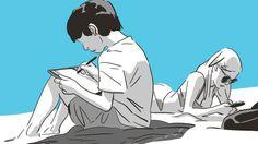 """Dans sa dernière bande dessinée, """"Une Sœur"""", Bastien Vivès lâche temporairement la série collective """"Last Man"""" pour raconter un amour de vacances initiatique."""