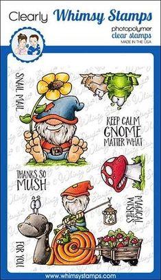 CARABELLE STUDIO SA60485 Cling Stamp Zolitins Des Bois