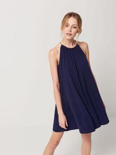 Sukienka z dekoltem halter, MOHITO, RA082-95X