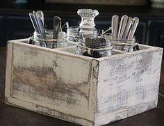 Ящик-органайзер для кухни своими руками